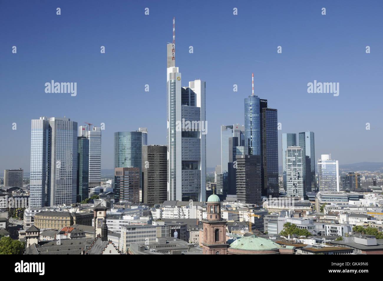 house multistory building multistorey building - Stock Image