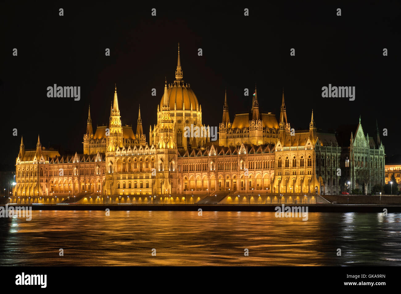 city town budapest - Stock Image