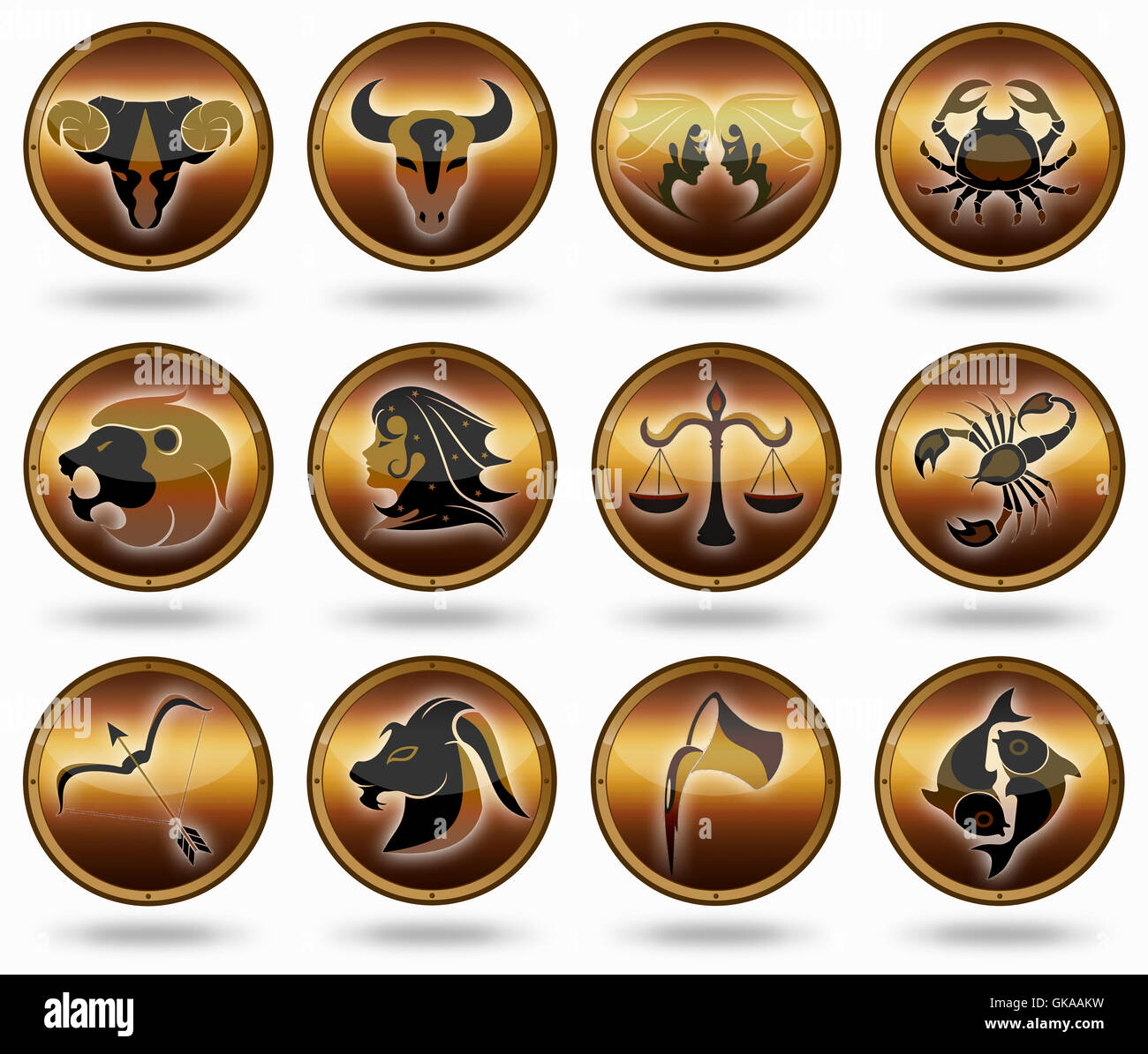 Zodiac Fire Sign Stock Photos & Zodiac Fire Sign Stock Images - Page