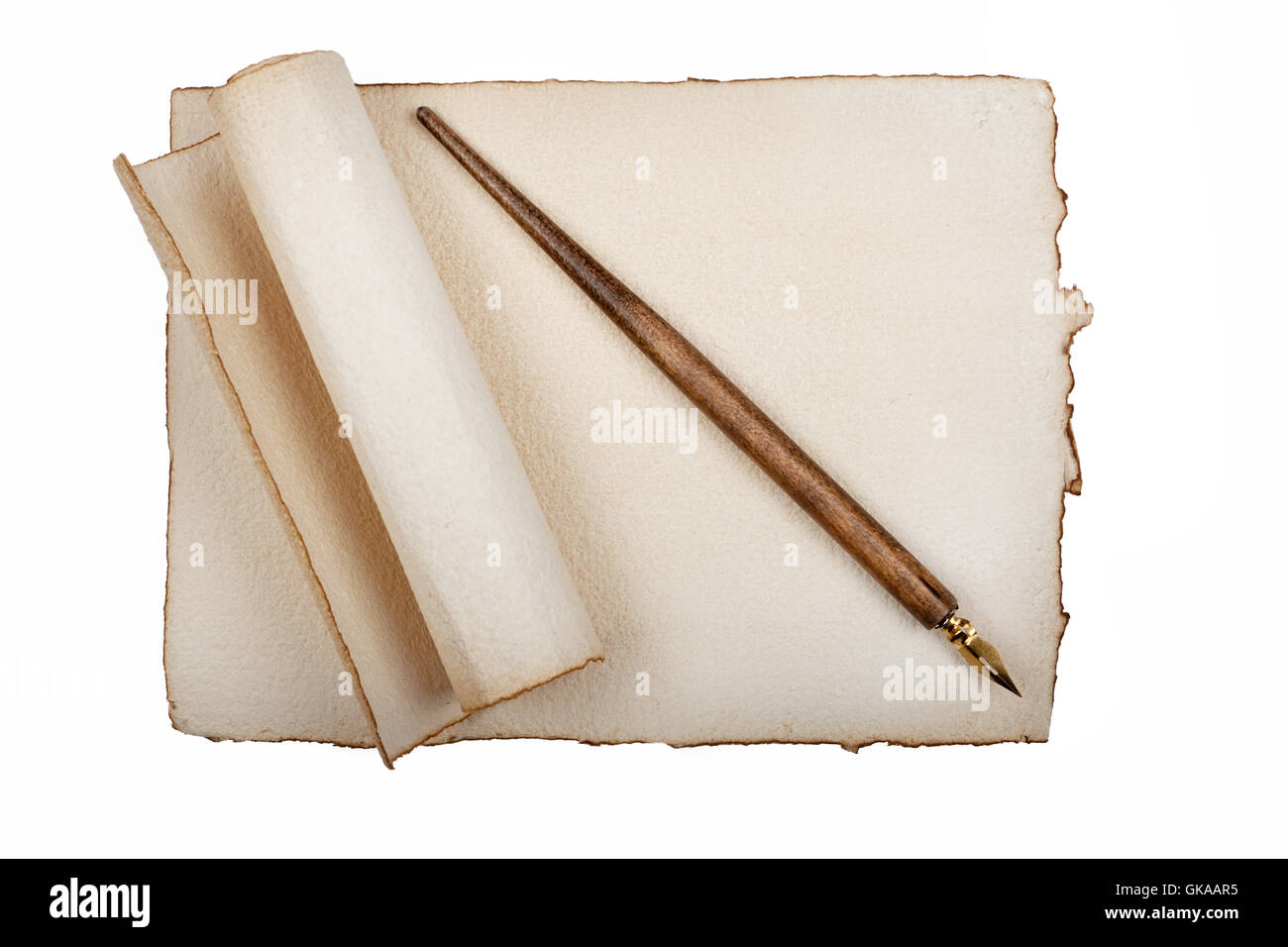 correspondence antik - Stock Image