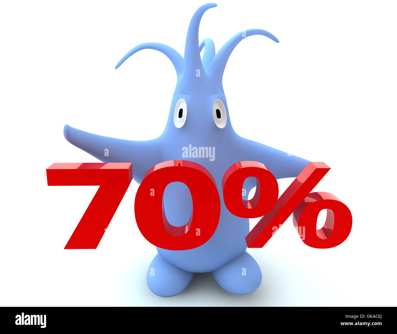 bargain buy reduced percentage - Stock Image