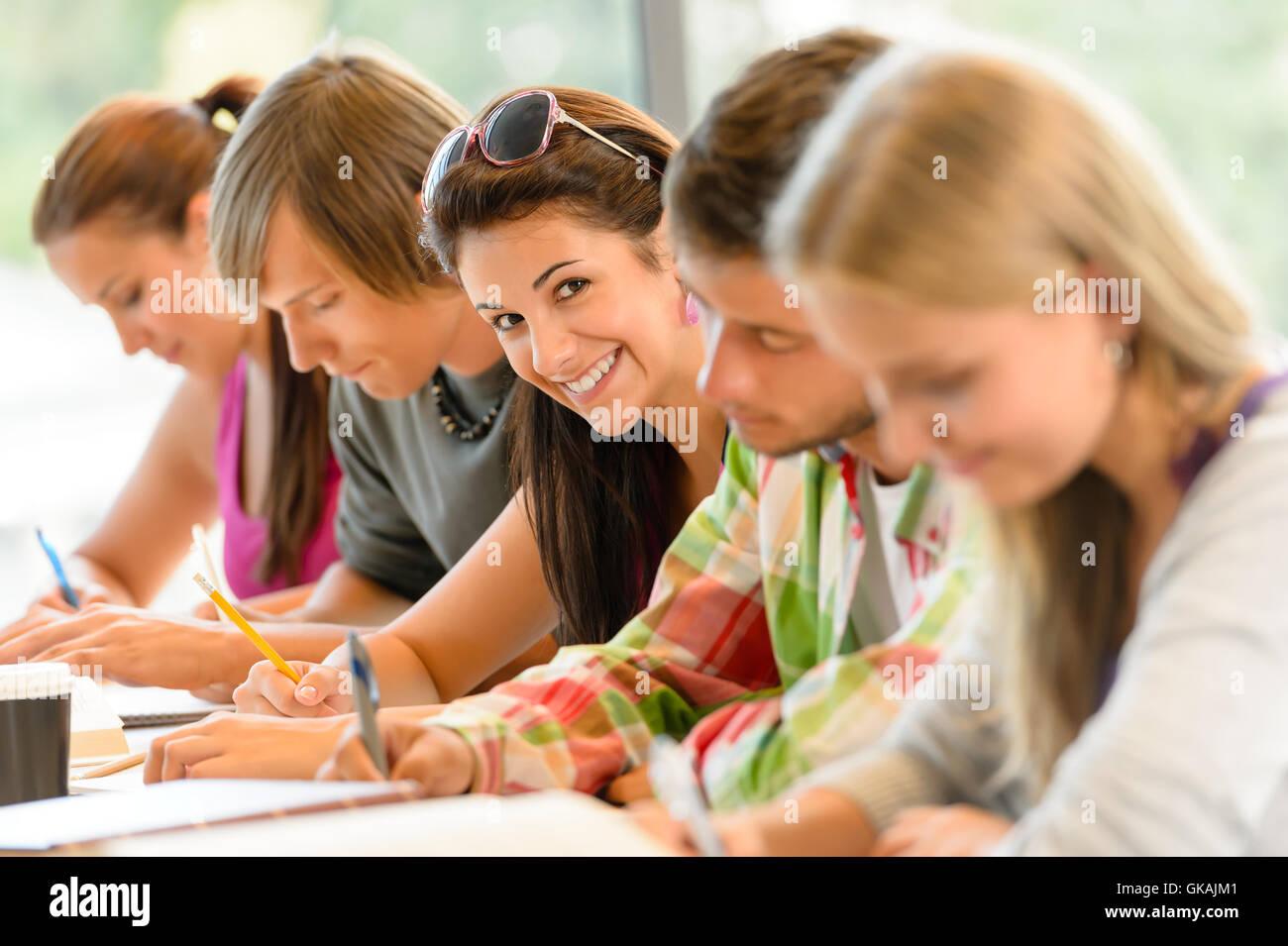 study woman women - Stock Image