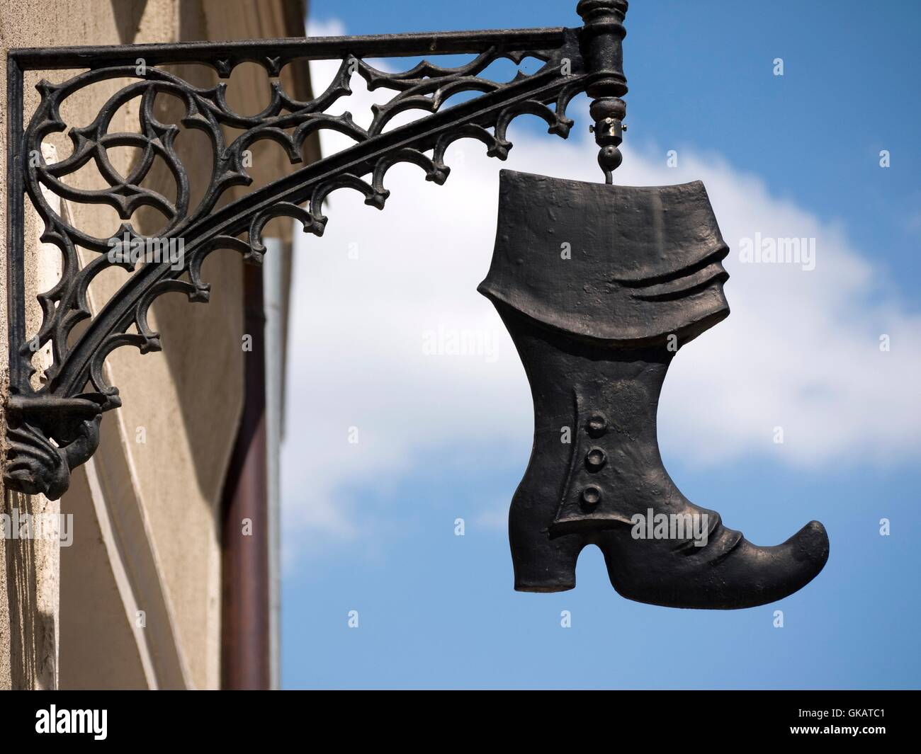 shield boot freiberg - Stock Image