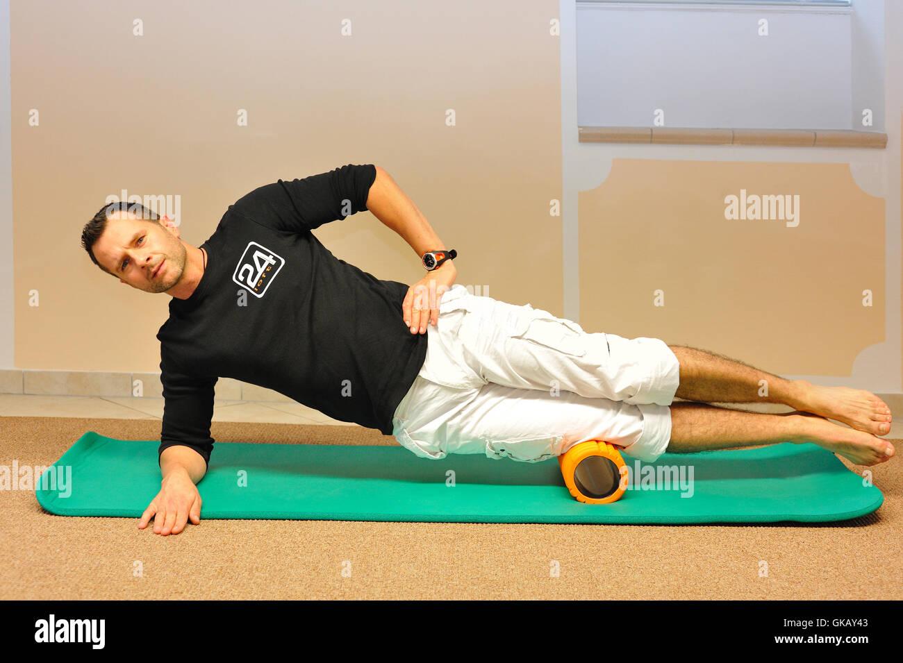 pilates - Stock Image
