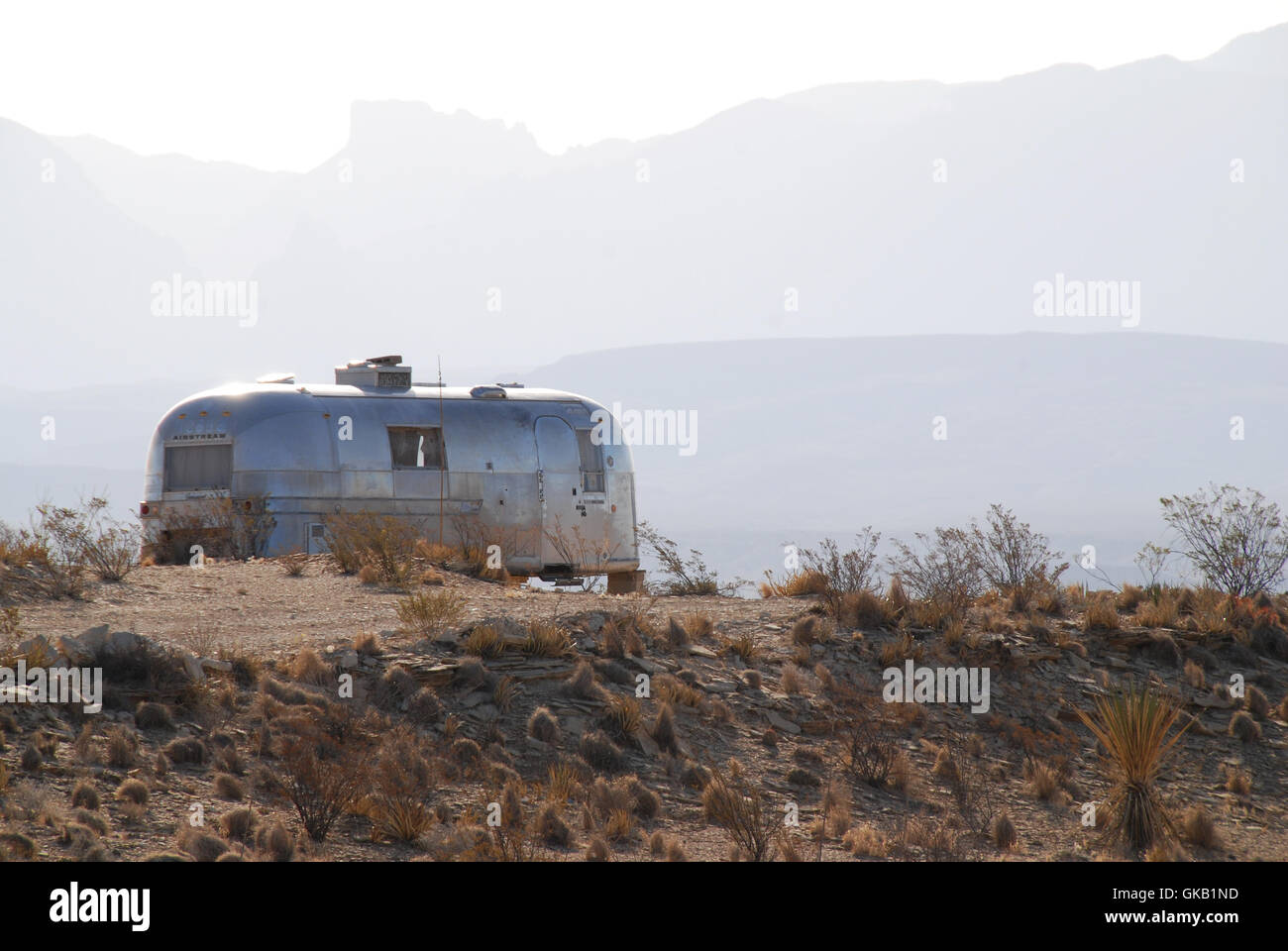 airstream - Stock Image