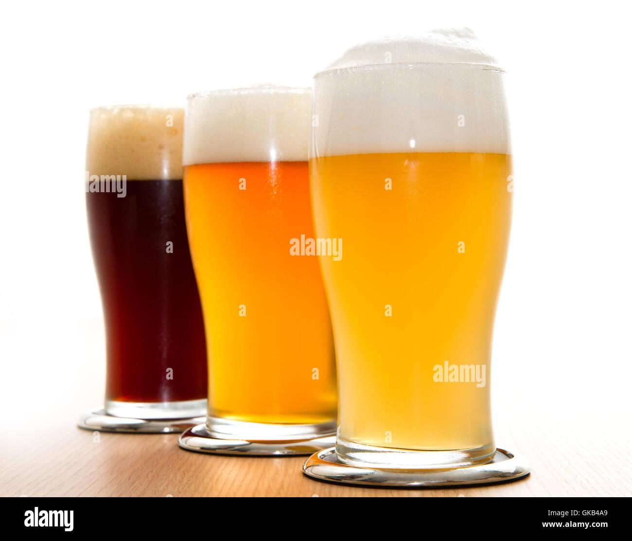 bar tavern glass - Stock Image