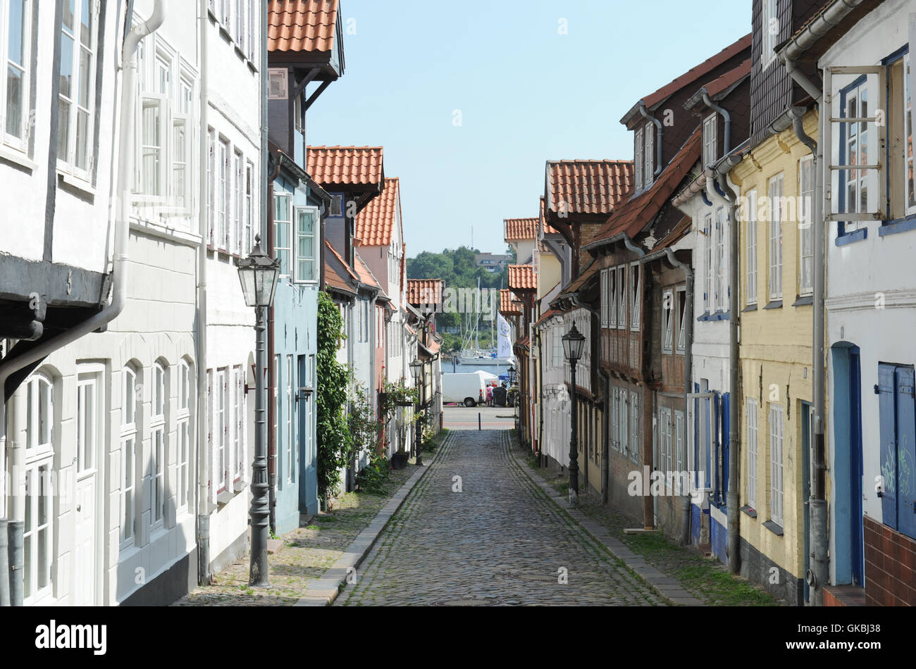 old town sightseeing Northern Germany - Stock Image