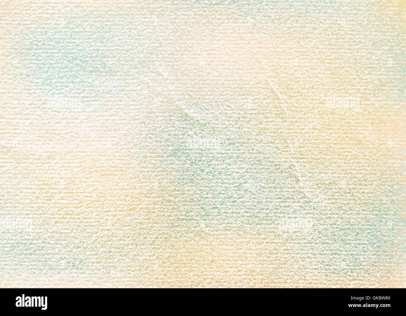 Watercolor paper vintage texture with folds, scratches, damages. Template size a4 horizontal format. Old background - Stock Image