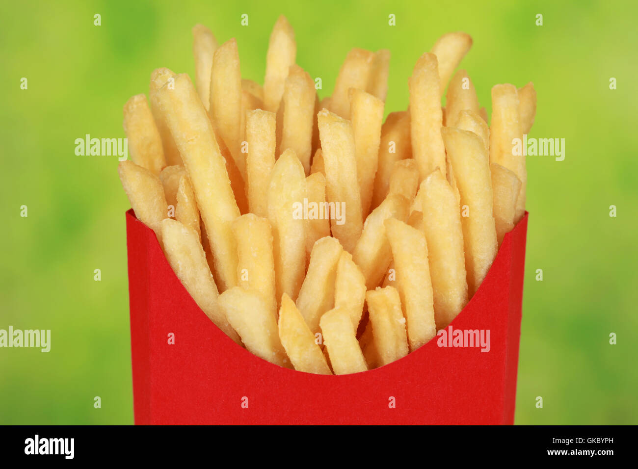 french fries - Stock Image