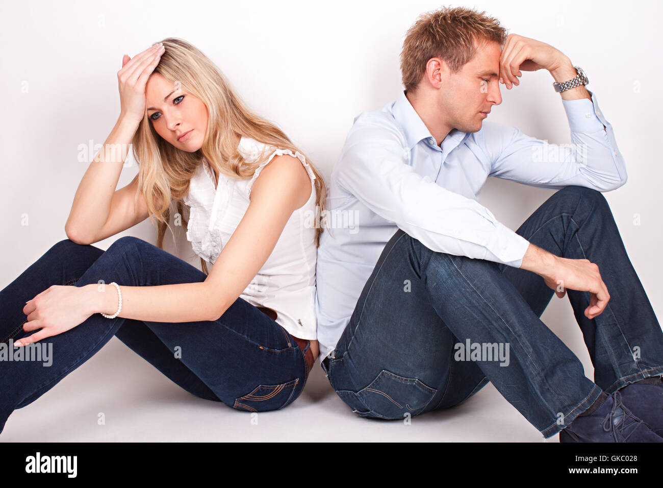 relationship problems - Stock Image
