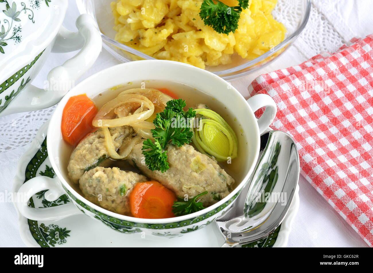 food dish meal Stock Photo