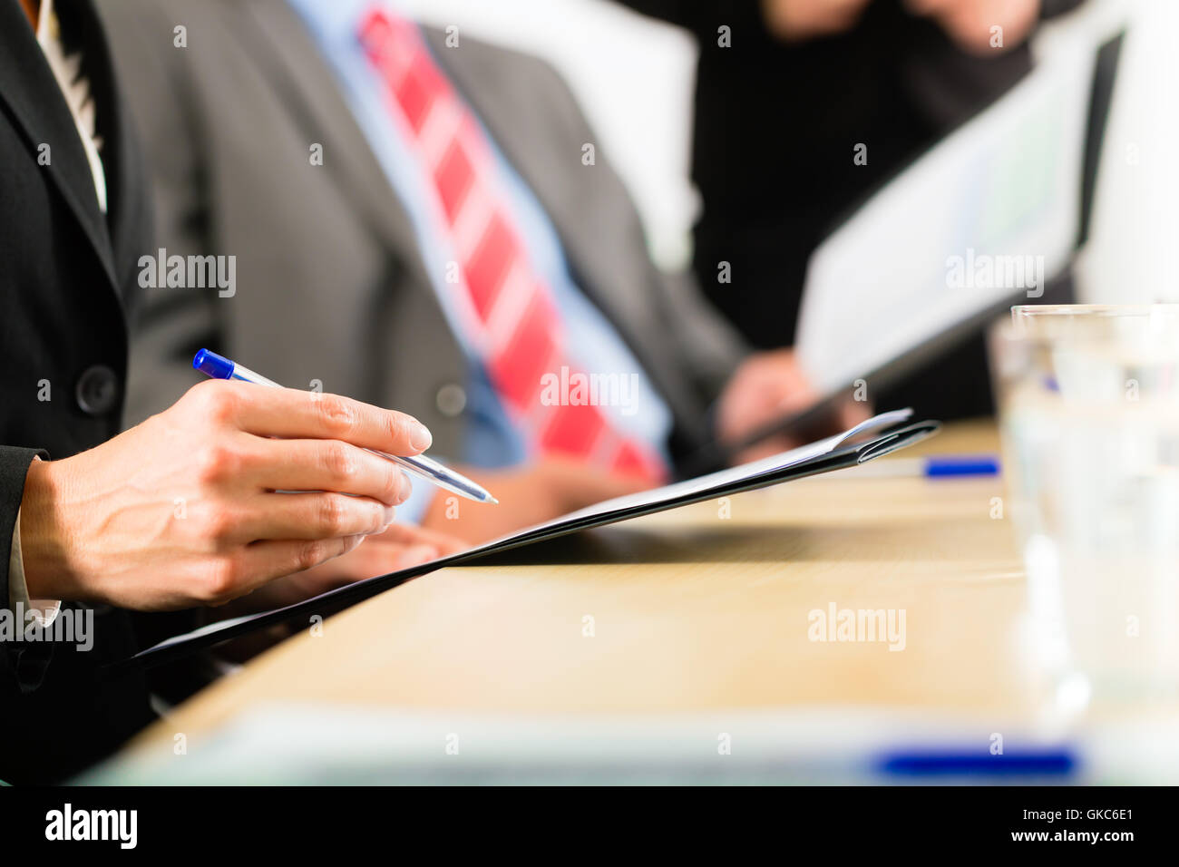business - business,meeting and presentation in the office - Stock Image