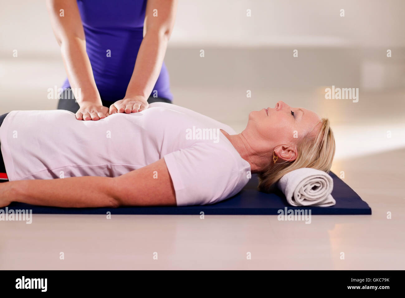 spirit therapy healer - Stock Image