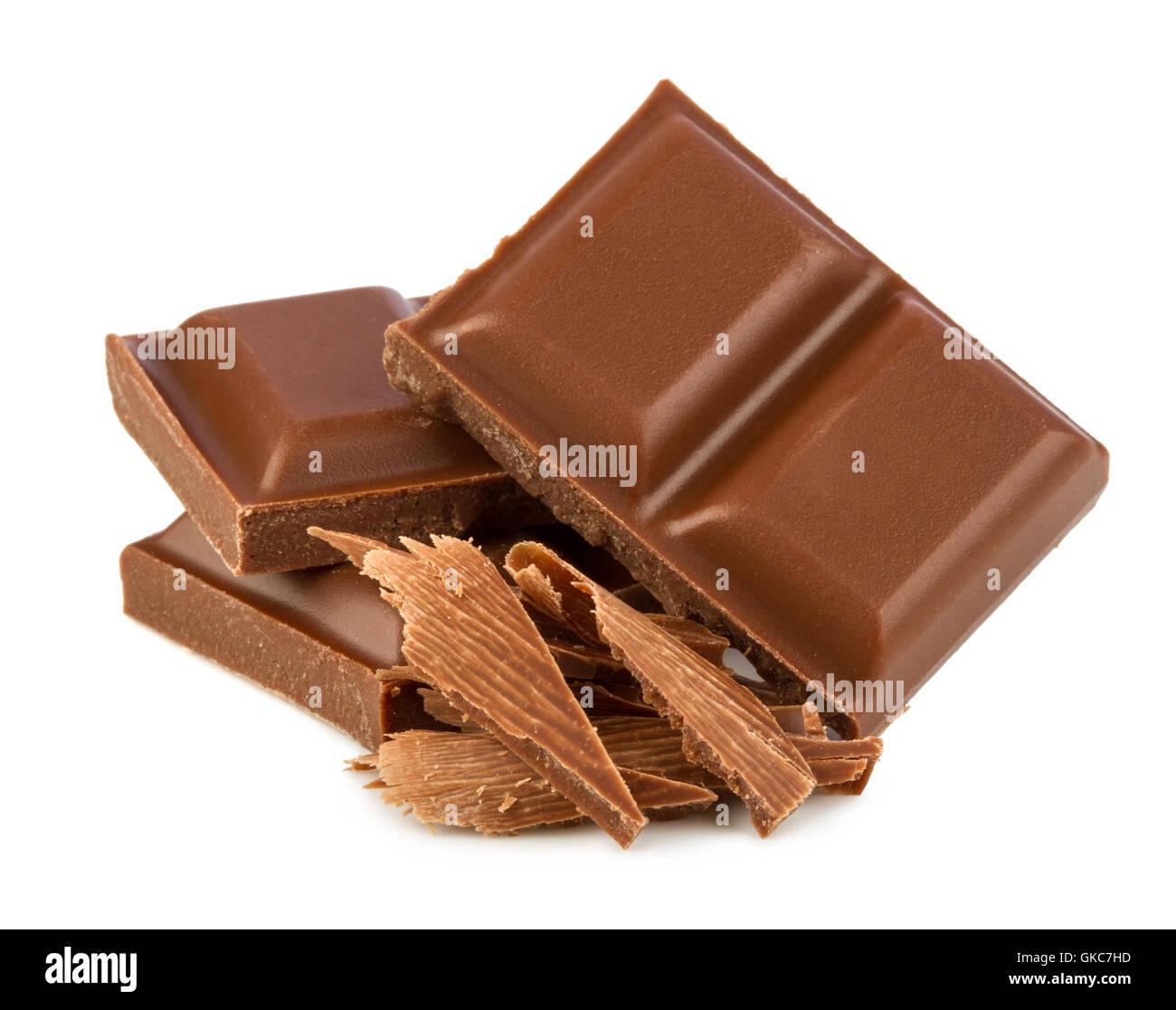 milk chcolate - Stock Image
