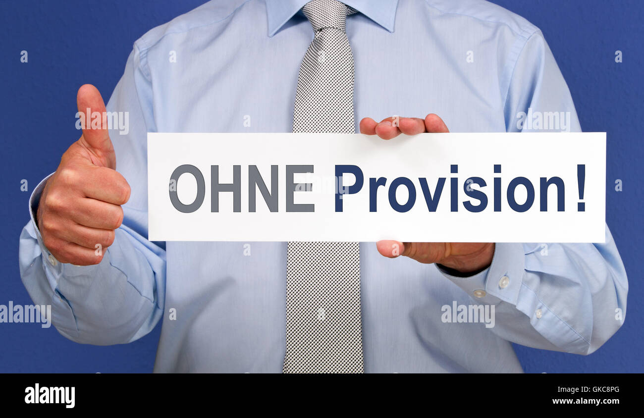 without provision - Stock Image