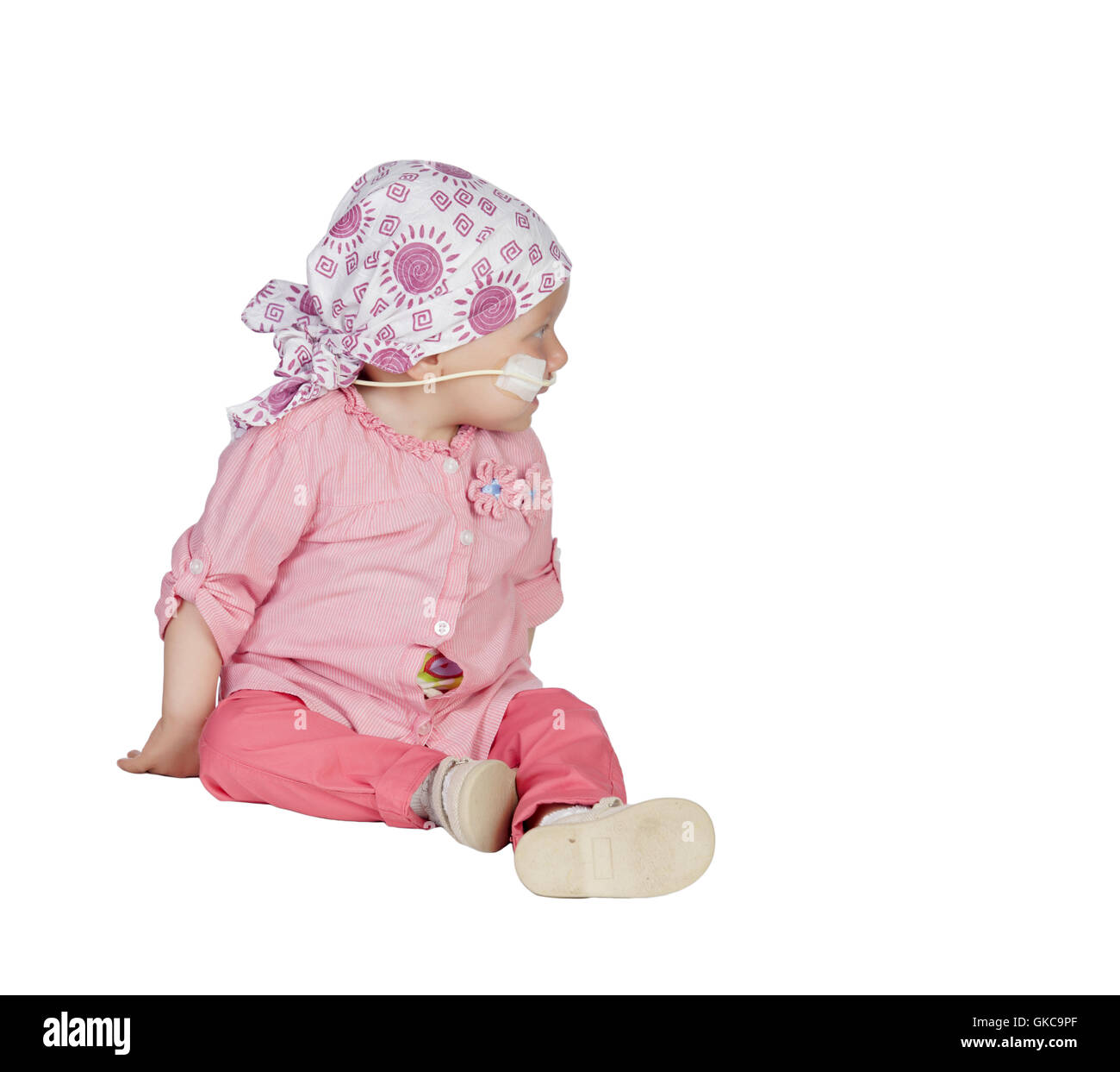 baby cancer therapy - Stock Image