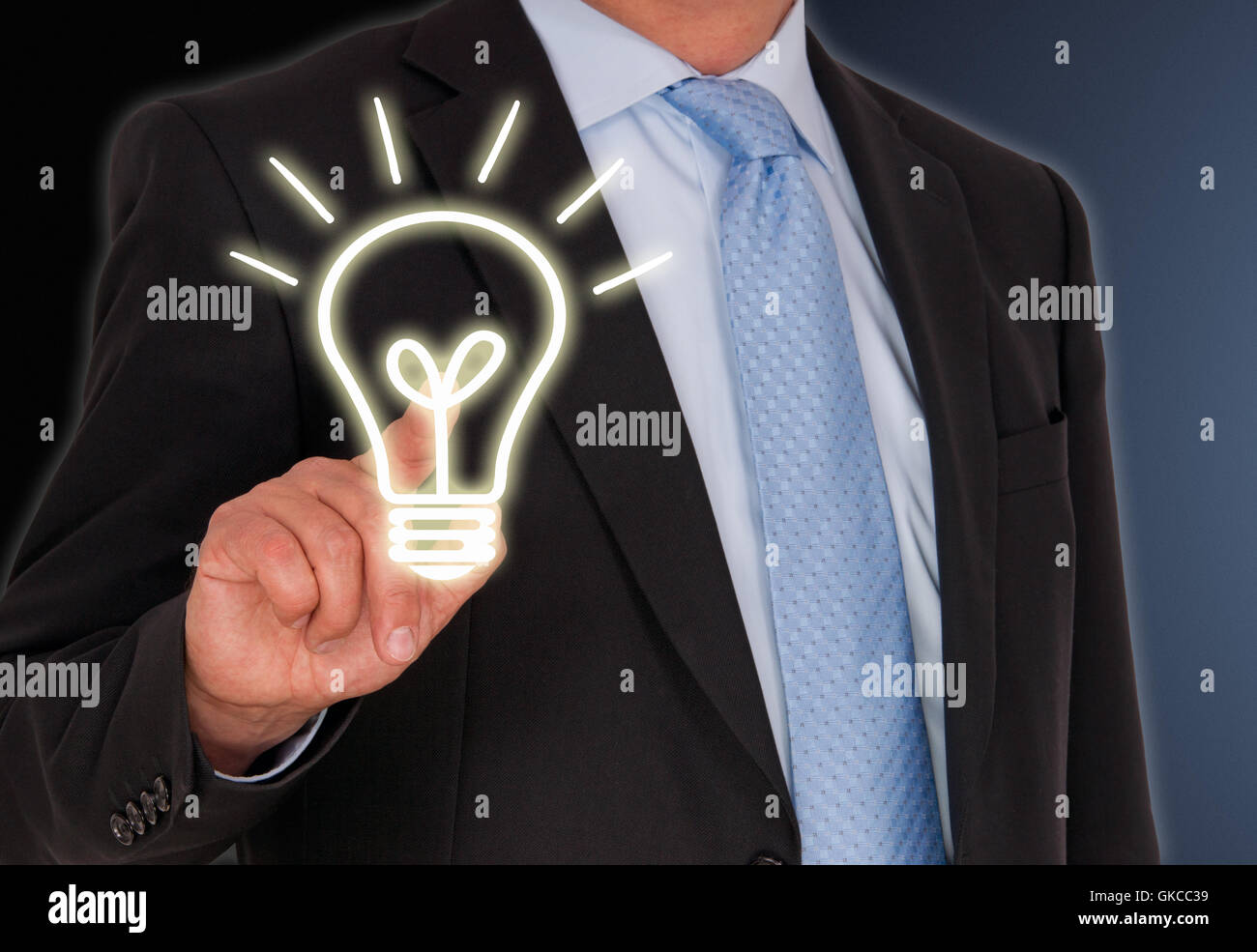 innovations and ideas - Stock Image