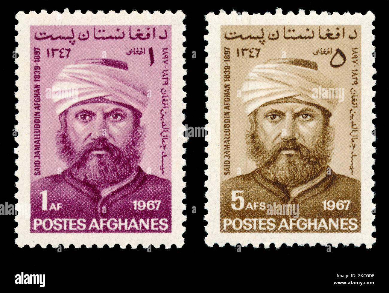 Sayyid Jamāl al-Dīn al-Afghānī, or Sayyid Jamāl ad-Dīn Asadābādī, 1838/1839-1897, a political activist and Islamic - Stock Image