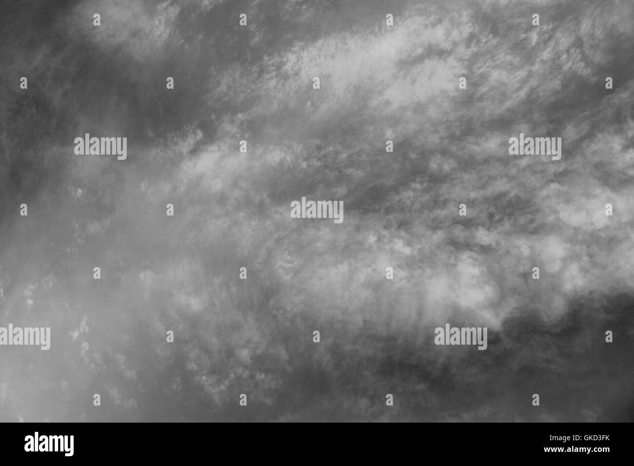 Partly cloudy background pattern - Stock Image