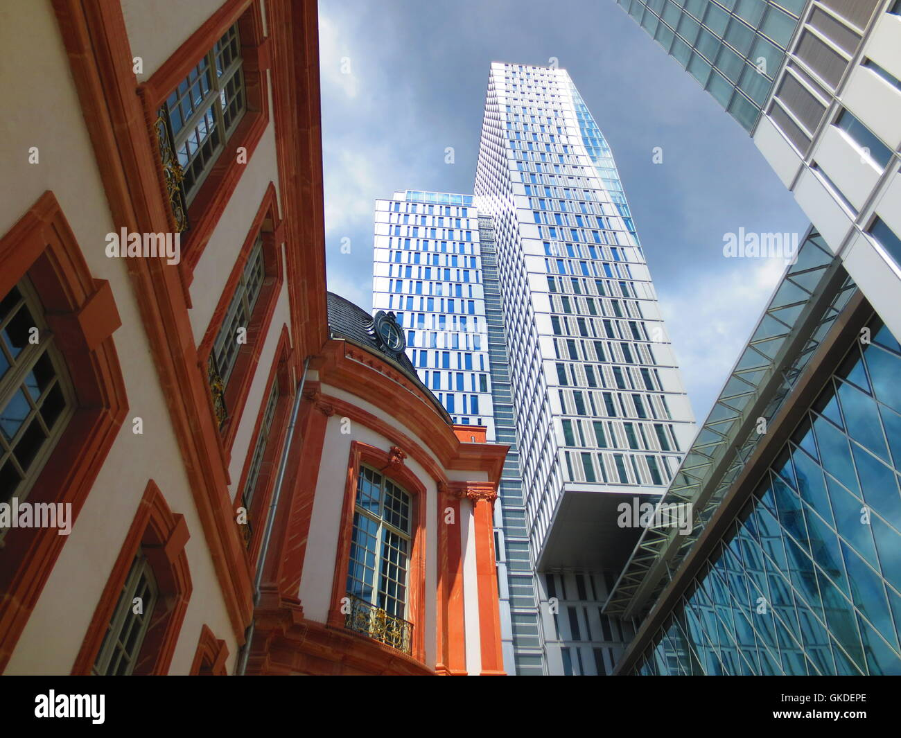 euro real estate investments - Stock Image