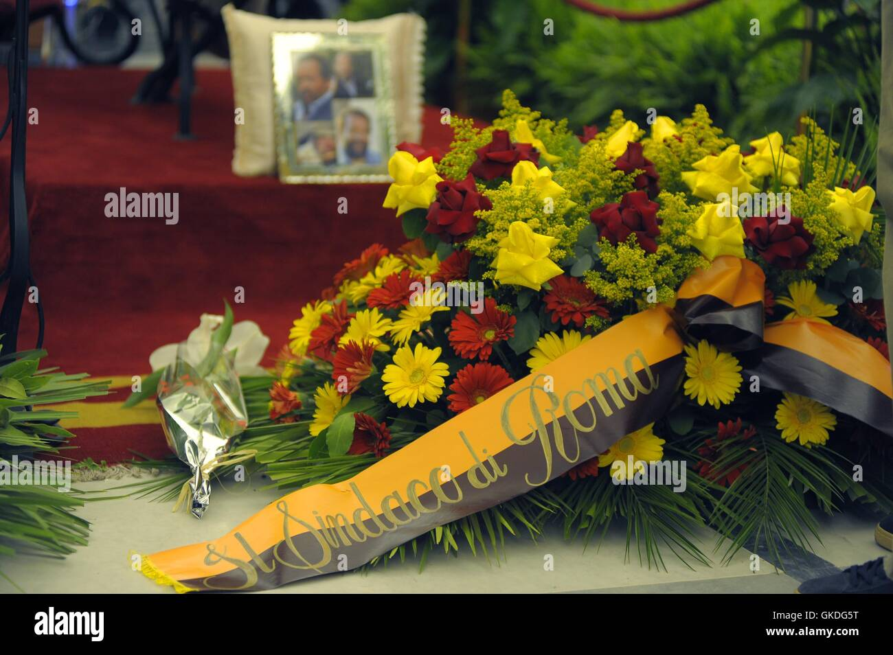The funeral of italian actor and filmmaker bud spencer held at stock the funeral of italian actor and filmmaker bud spencer held at protomoteca hall featuring atmosphere where rome italy when 29 jun 2016 credit izmirmasajfo