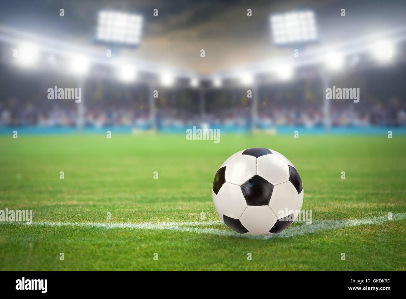 football stadium - Stock Image