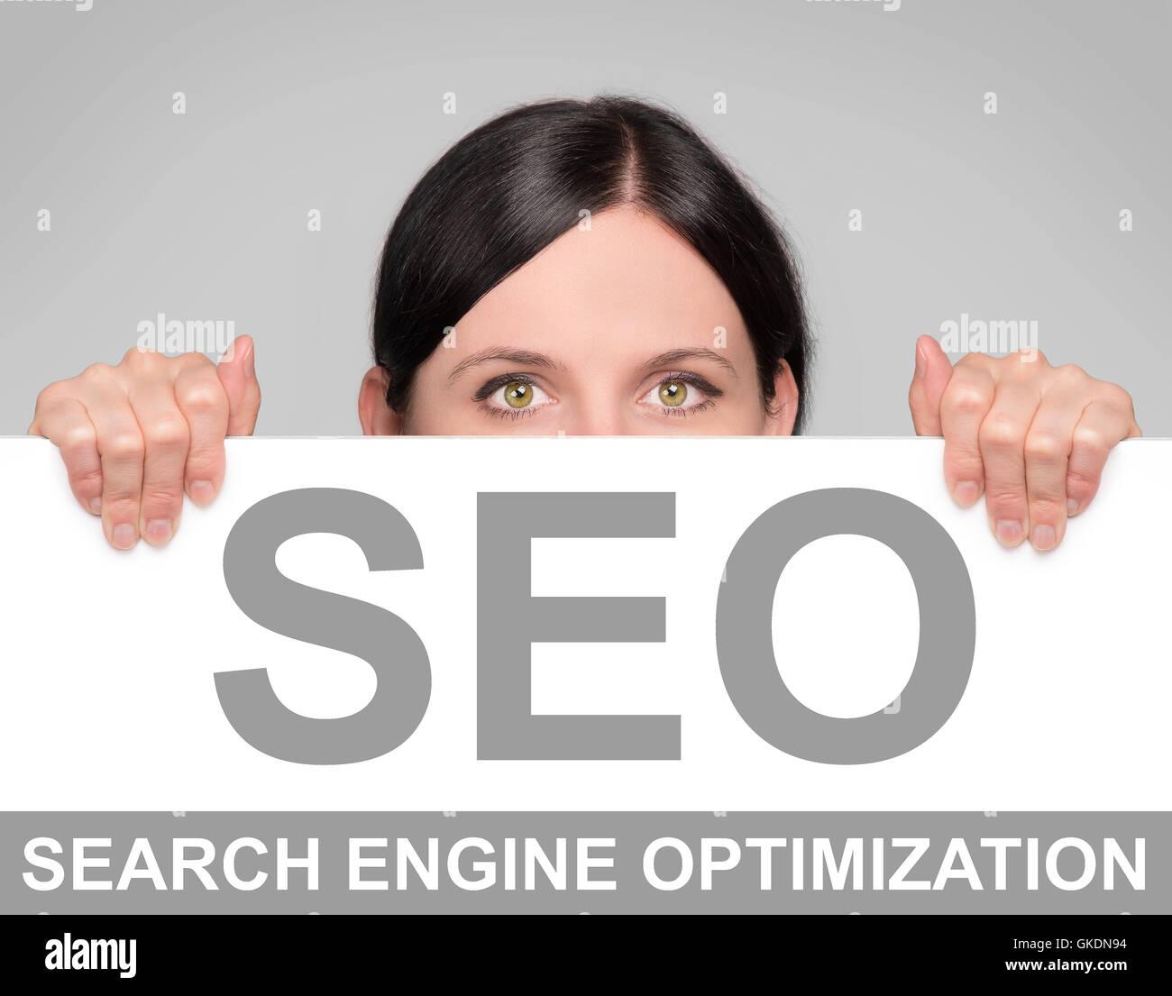 optimization keyword marketing - Stock Image