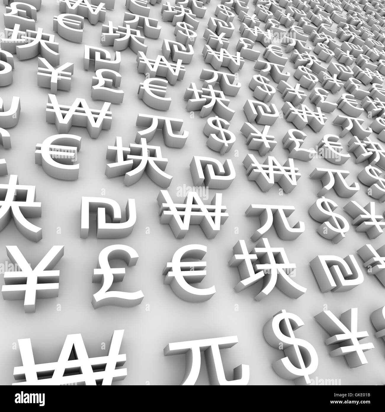 Euro Symbol Global Currencies Stock Photos Euro Symbol Global