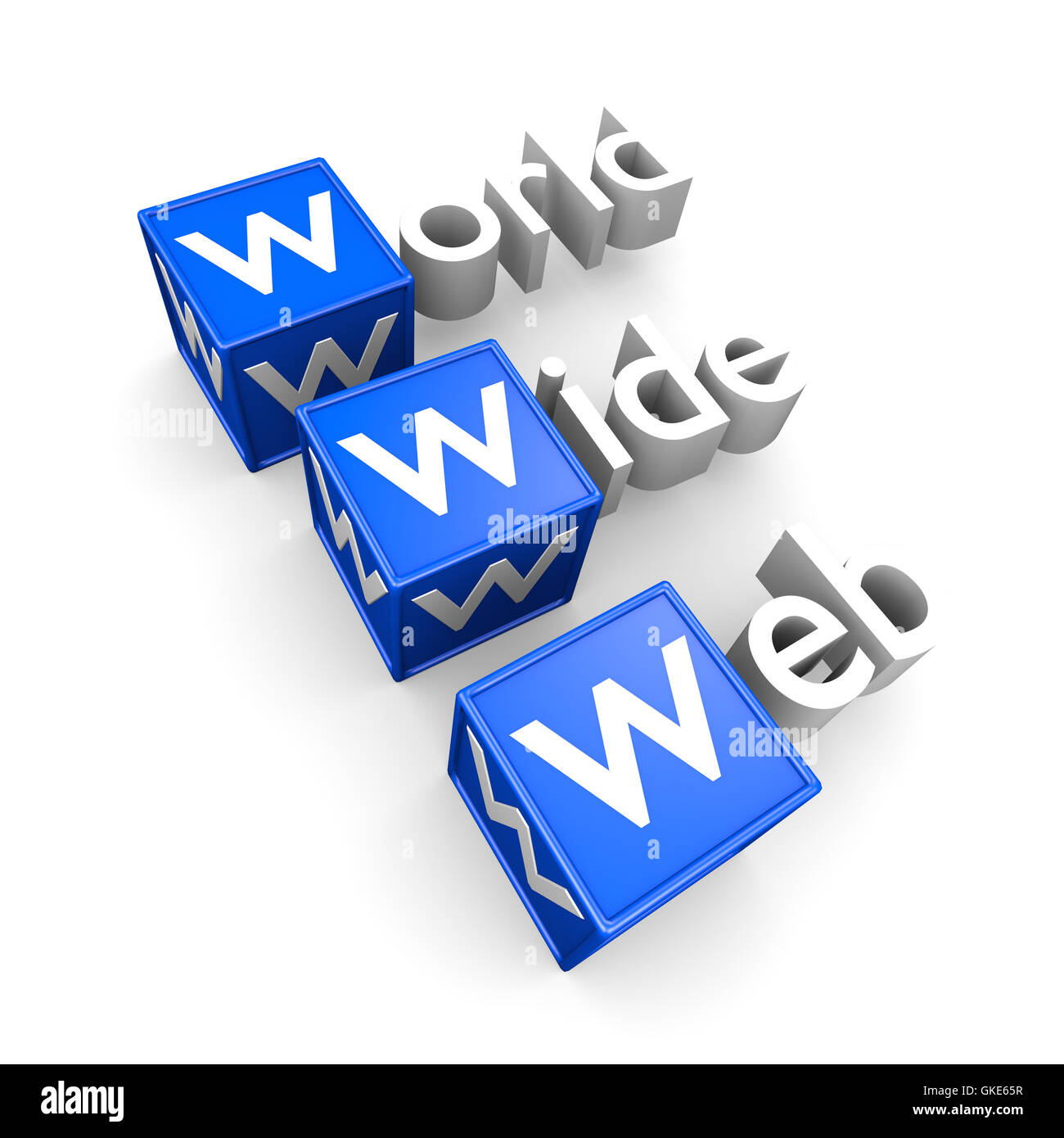 WWW concept - Stock Image
