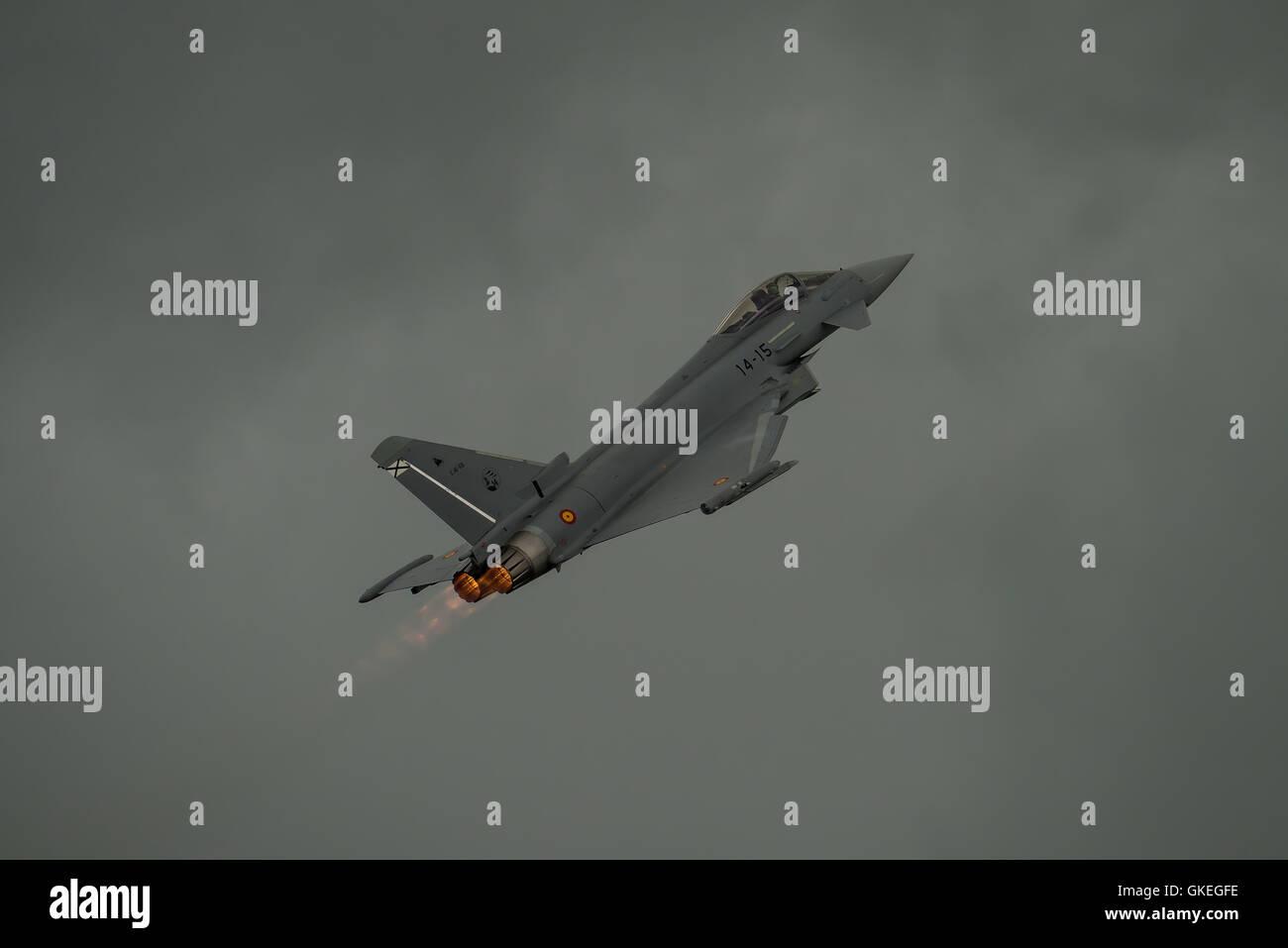 Spanish Eurofighter Typhoon Stock Photo