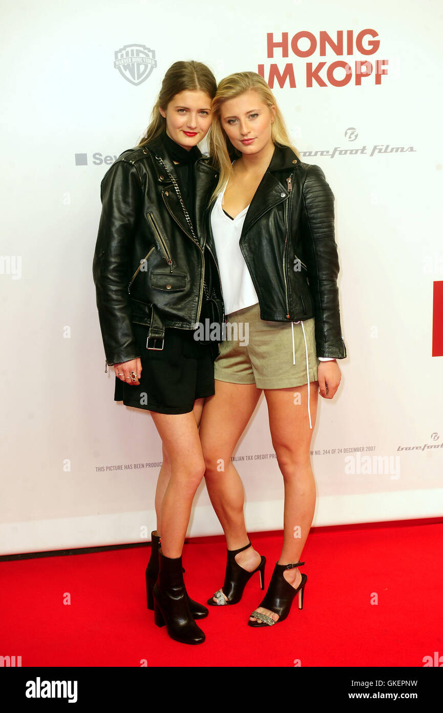 Celebrities At Honig Im Kopf Home Entertainment Party At