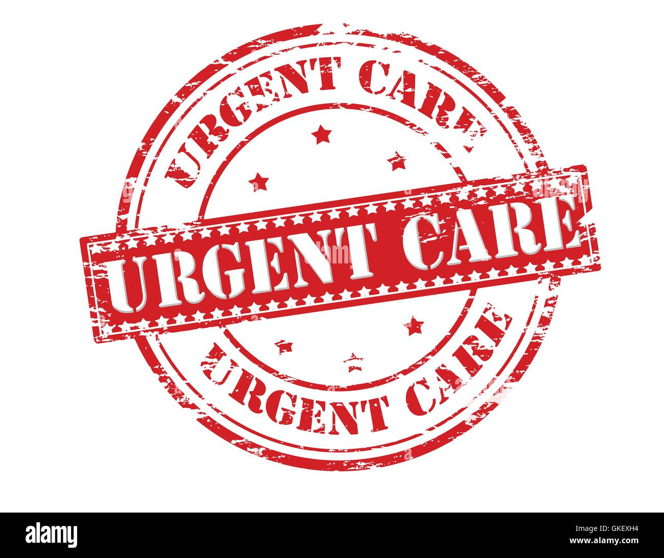 Urgent care - Stock Image