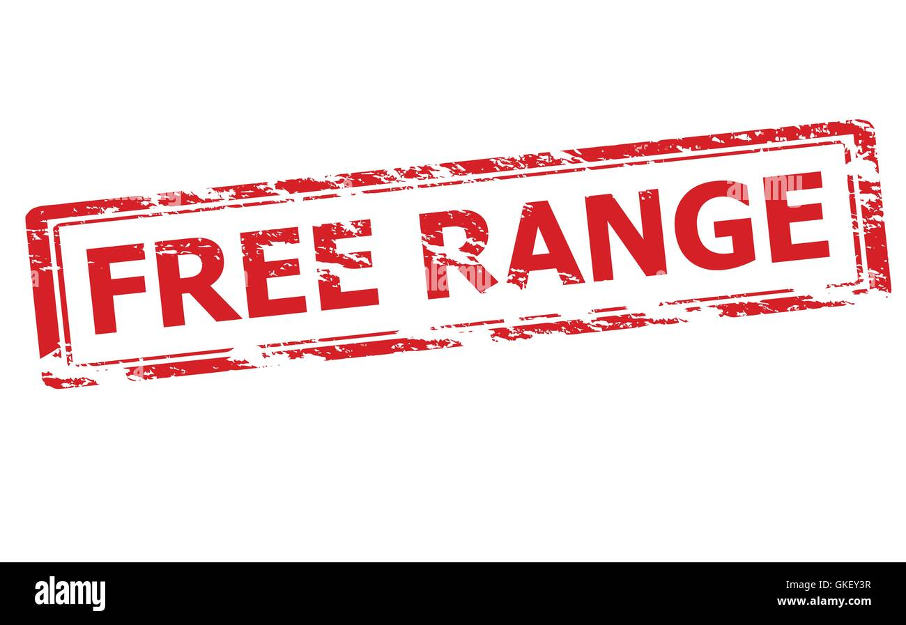 Free range - Stock Vector
