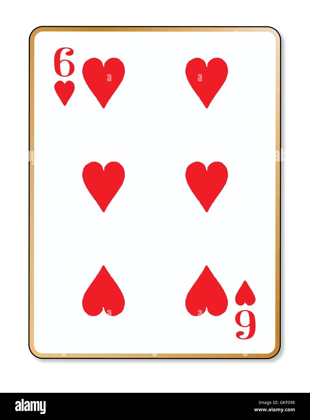 Six of Hearts