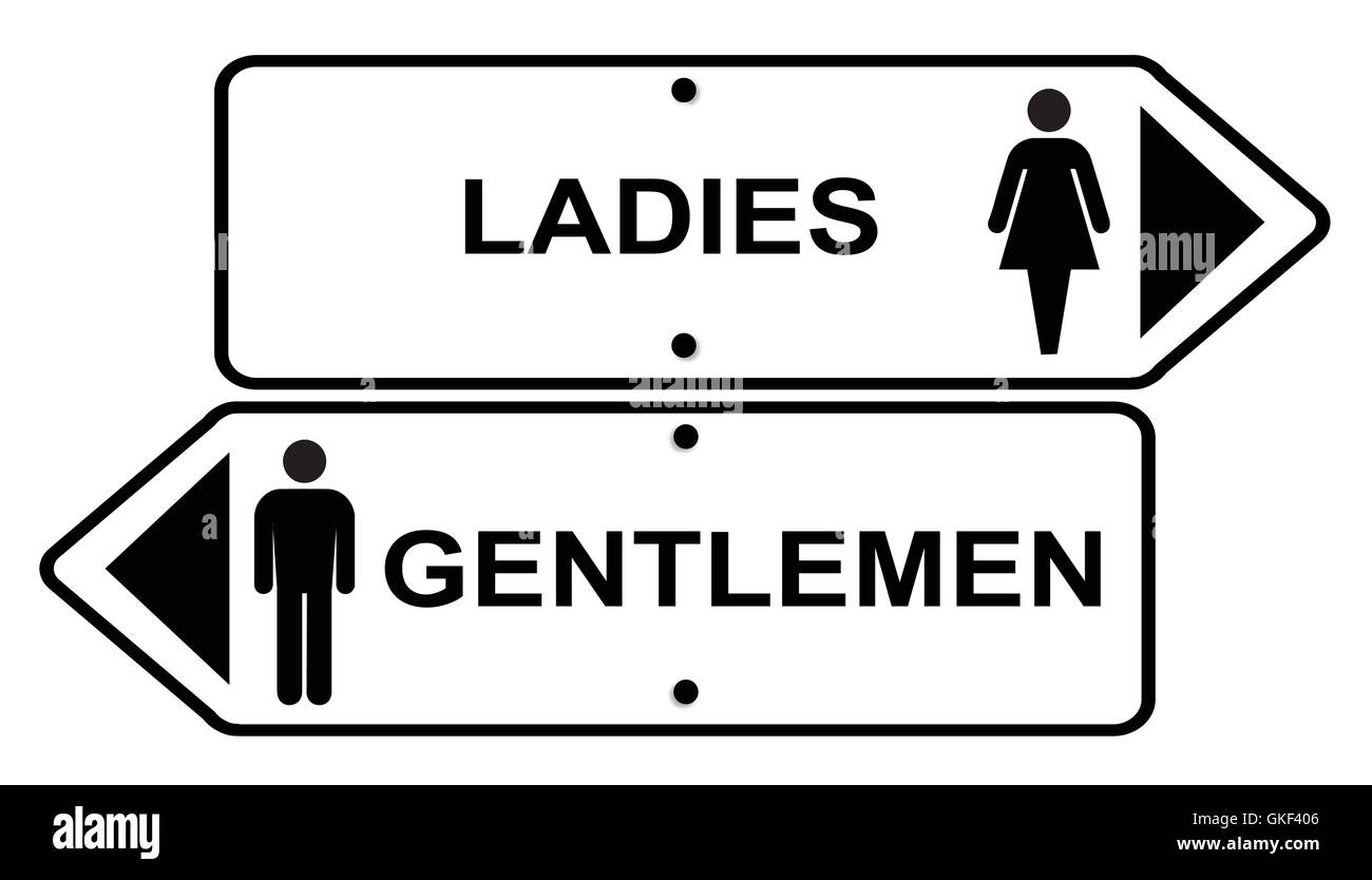 Ladies Toilet Signs Stock Photos Amp Ladies Toilet Signs