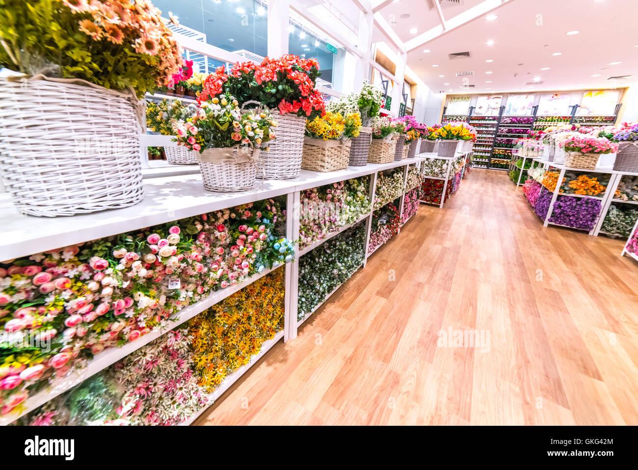 Kuala Lumpur Flower Shop Stock Photos Kuala Lumpur Flower Shop