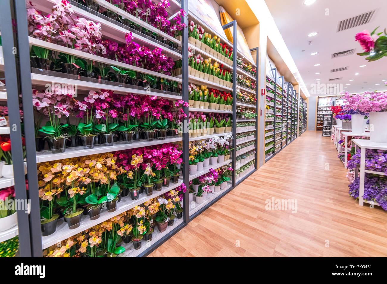 Kuala lumpur malaysia may 30 2016 paper flower shop at setia kuala lumpur malaysia may 30 2016 paper flower shop at setia mall setia alam selangor mightylinksfo