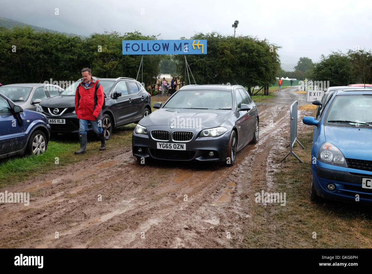 Glastonbury Staff Car Park