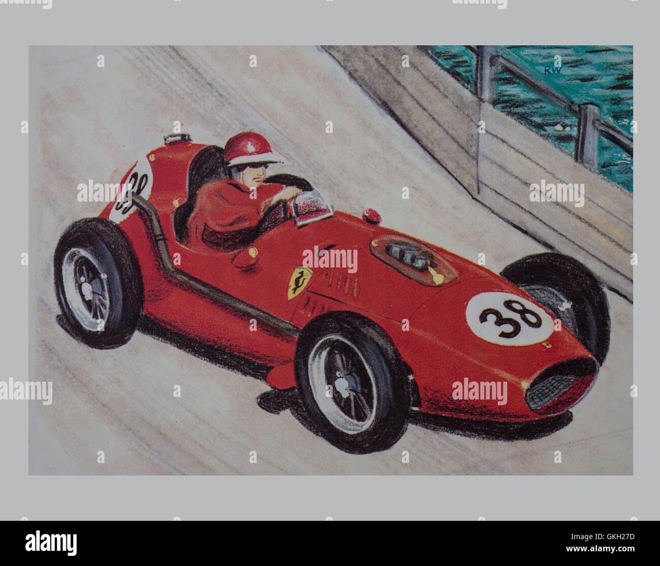 1957 Ferrari Dino 246 - Stock Image