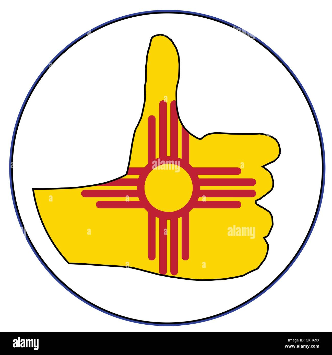 New Mexico Flag Vector Real Clipart And Vector Graphics
