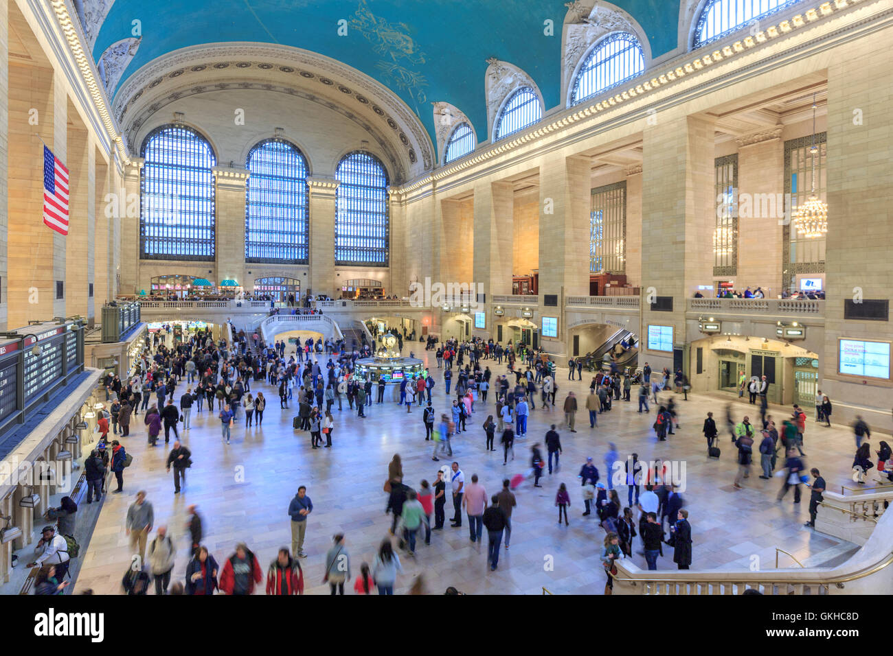 USA, New York, New York City, Manhattan, Grand Central Station - Stock Image