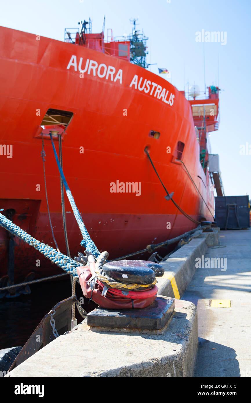 Aurora Australis Vessel - Stock Image
