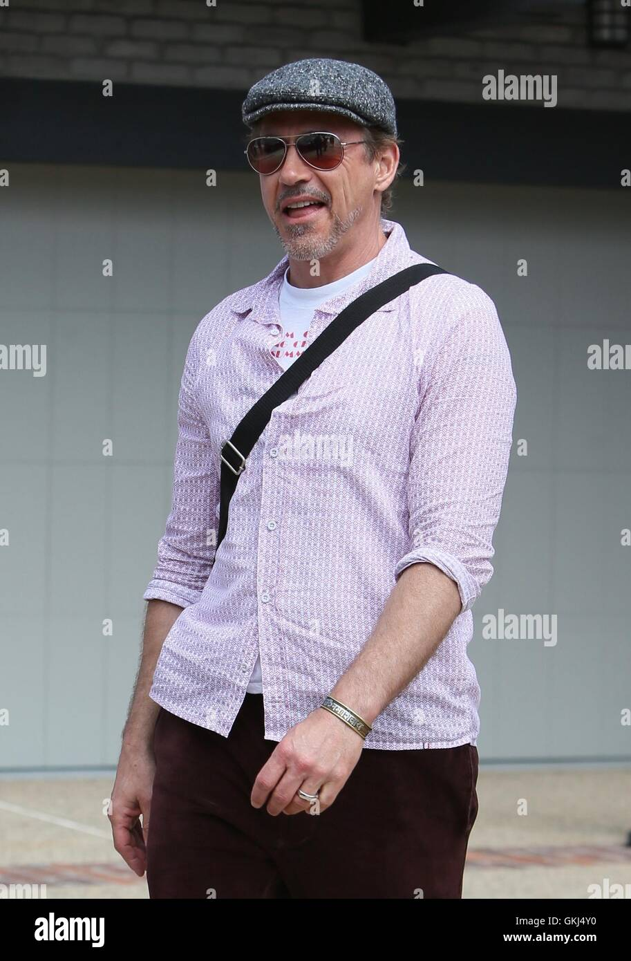 7a56957f54483 Robert Downey Jr arrives at Joel Silver s Memorial Day party Featuring  Robert  Downey Jr. Where  Los Angeles