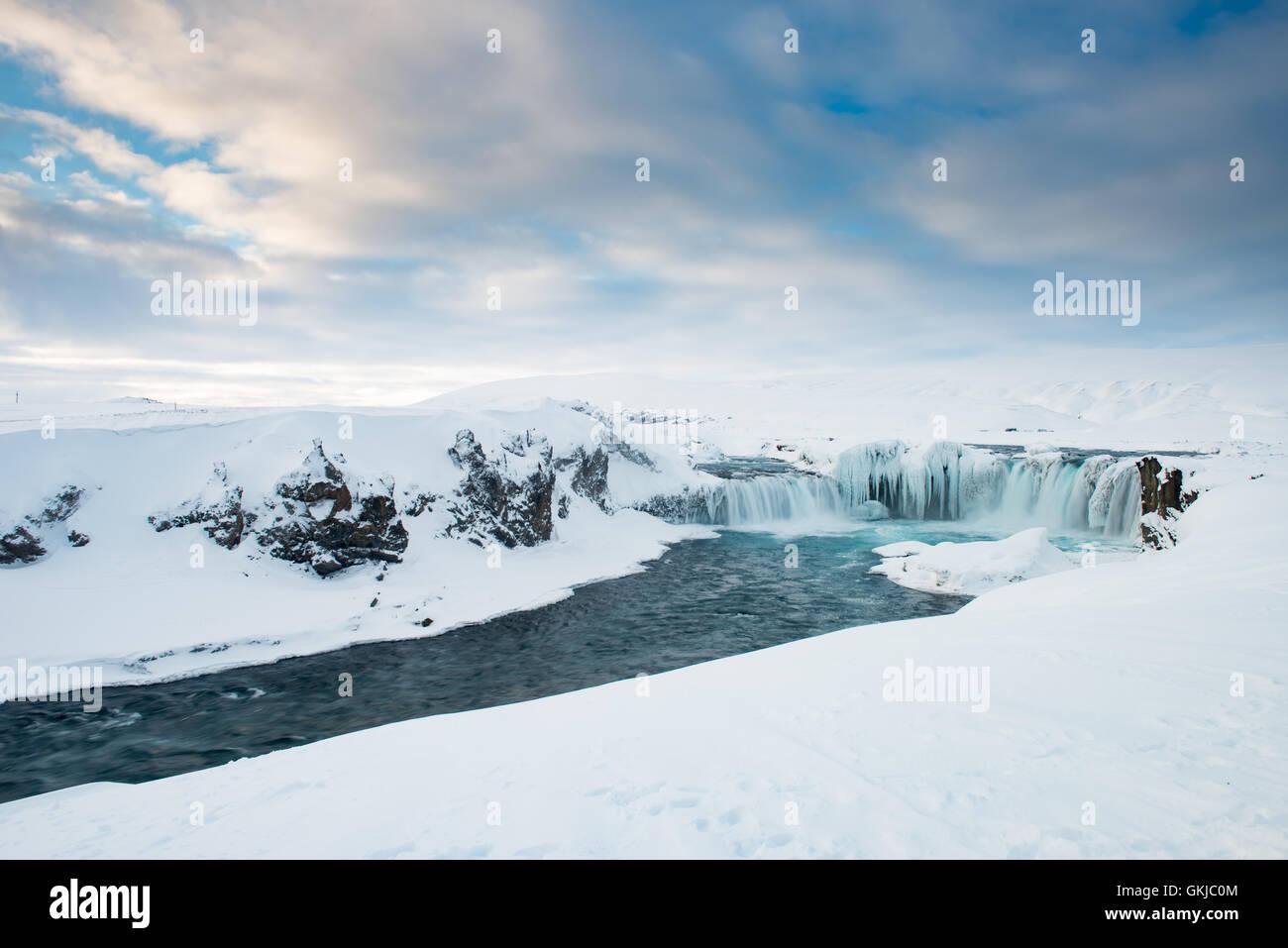 Godafoss, Iceland - Stock Image