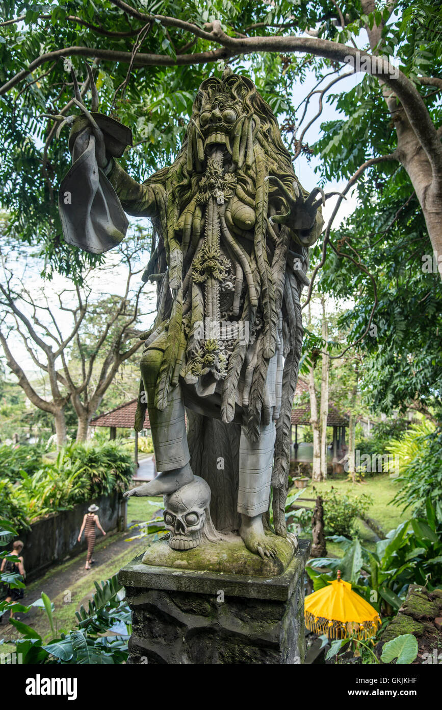 Tirta Gangga Royal Water Garden: Grotesque Statues Stock Photos & Grotesque Statues Stock