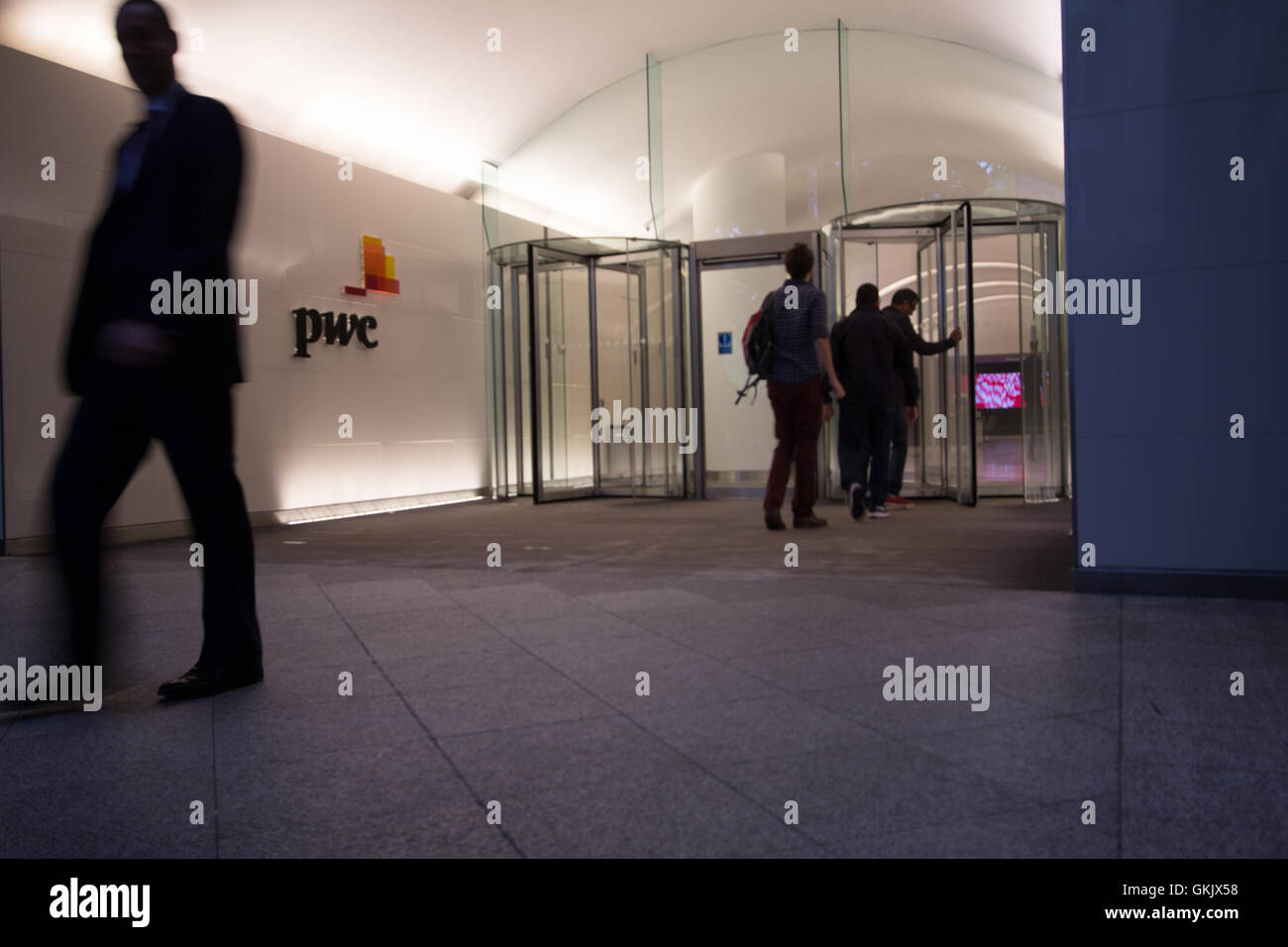 Price Waterhouse Cooper PWC headquarters London - Stock Image
