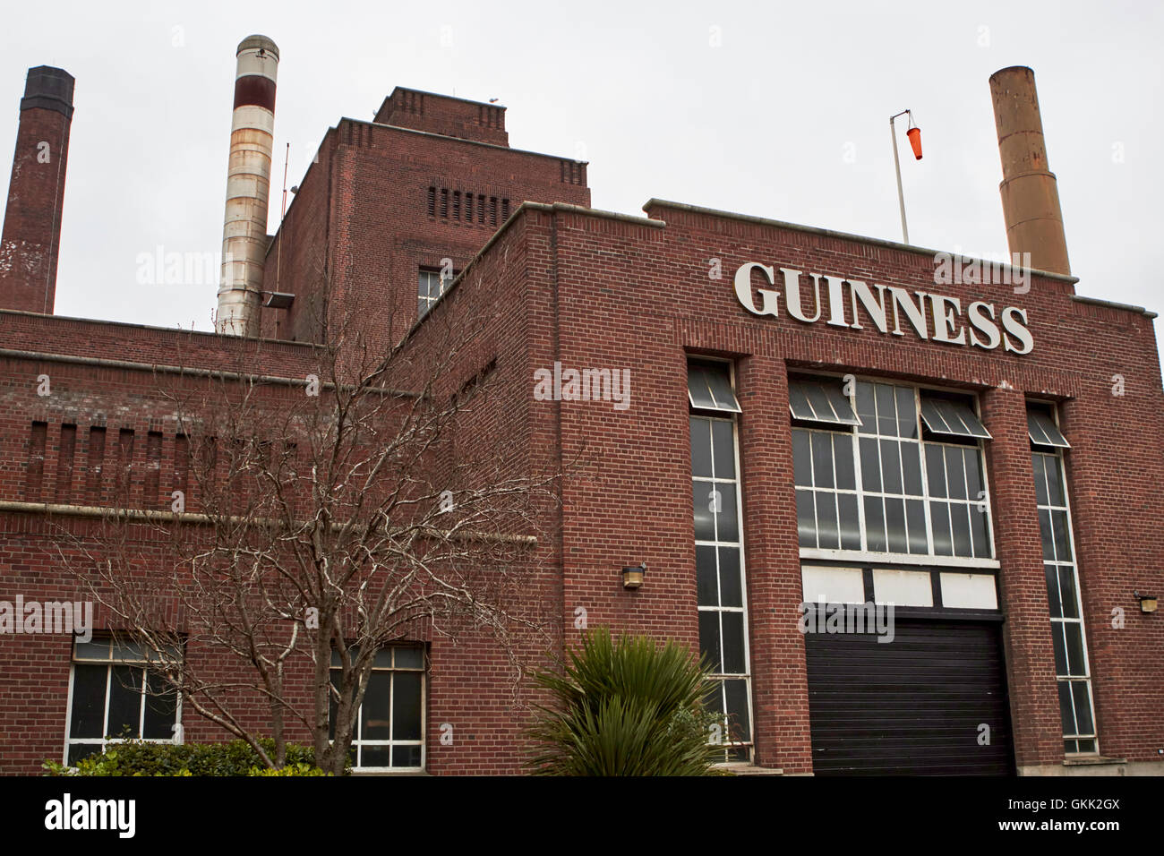 guinness brewery st james's gate dublin Ireland - Stock Image