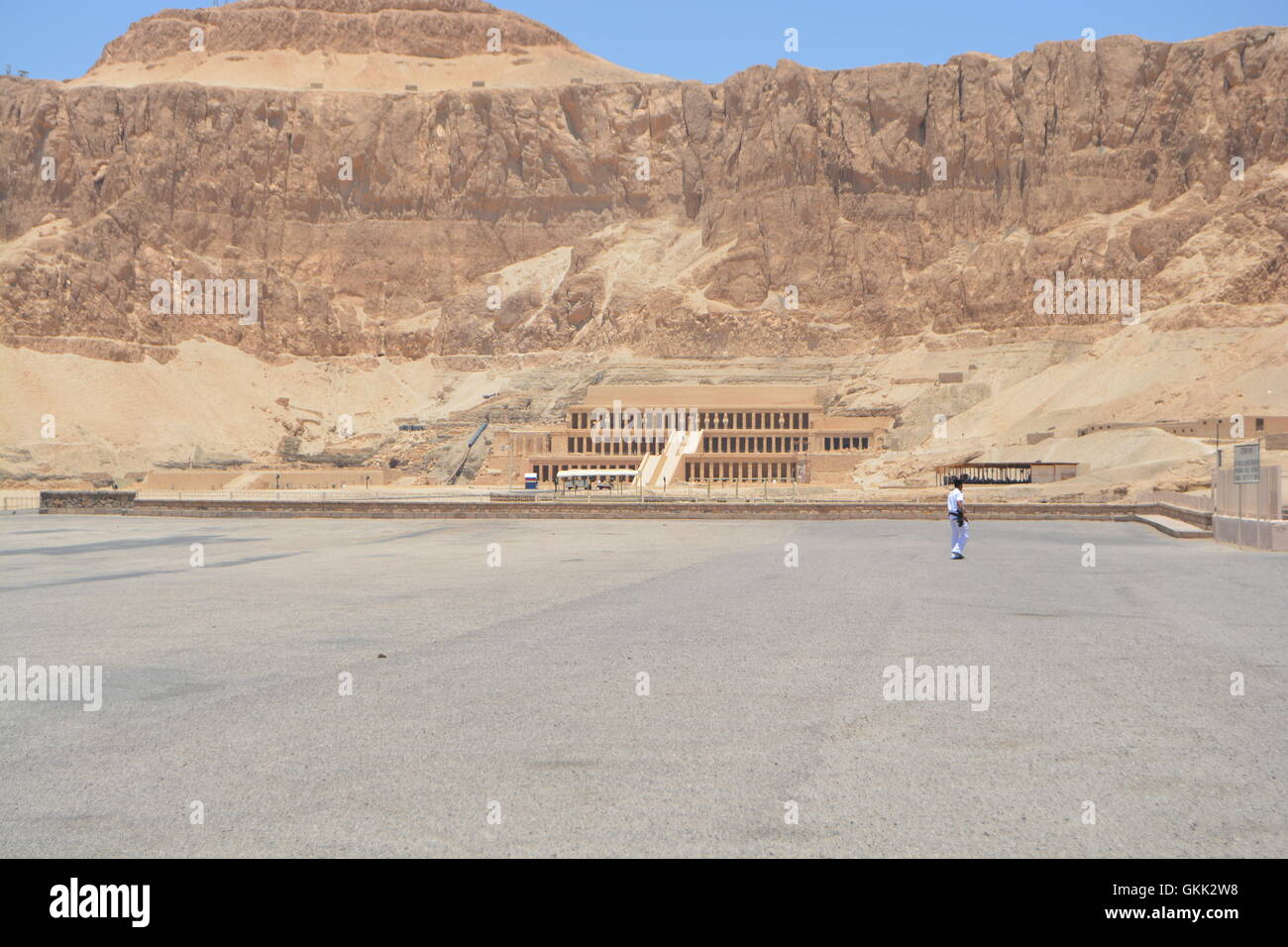 Hatshepsut Valley of the Kings - Stock Image