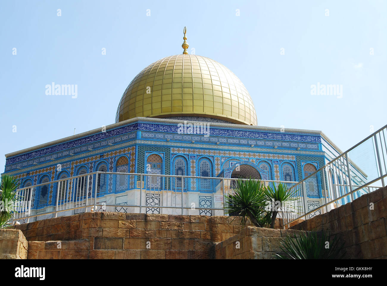 the dome of the rock - Stock Image