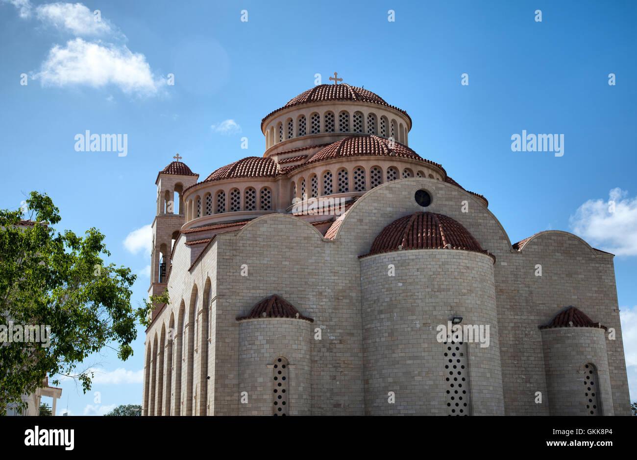 Agioi Anargyroi Church in Paphos - Cyprus Stock Photo